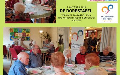 Samen eten in Den Hoorn aan 'De Dorpstafel'